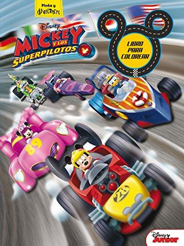 Mickey y los Superpilotos. Libro para colorear (Disney. Mickey)