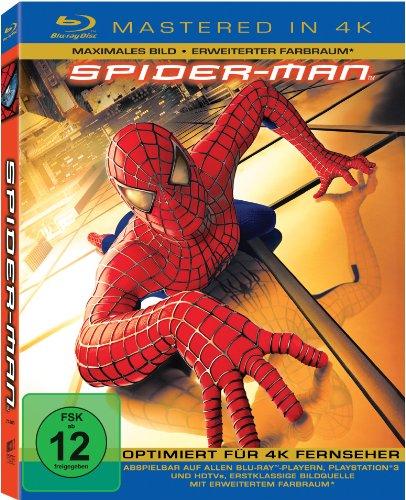 Spider-Man 1  (Mastered in 4K) [Blu-ray]
