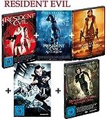 Resident Evil 1-5 dvd Bundle, Set, Milla Jovovich, Ali Larter, Wentworth Miller, Sienna Guillory, Michelle Rodriguez,1,2,3,4,5 hier kaufen