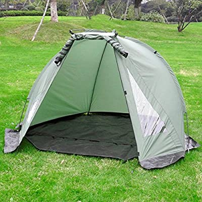Carp Fishing Bivvy Day Tent Shelter | 1-2 Man Lightweight Waterproof | M&W by Xbite