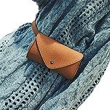 Anyfacture Hüfttasche für Frauen in Braun I Elegante Bauchtasche I Praktische Schultertasche