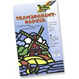 KnorrPrandell 8260010 Folia Mappe Transparentpapier, Sortiment, 21 x 30 cm