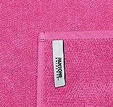 Set von 2Seiftüchern Pantone 16–2126Azalea Pink 30x 30cm 100% Baumwolle Frottee Stoff