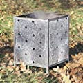 Genuine Parasene Square Galvanised Incinerator Comes Holes All The Way Up by PARASENE