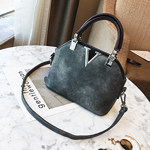 TSLX-Mini Vintage Schulter Tasche Handtasche Neu gray