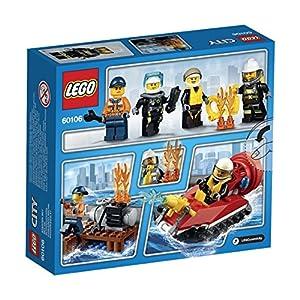LEGO- City Starter Set Pompieri Costruzioni Gioco Bambina Giocattolo, Colore Non specificato, 60106 0736126005031 LEGO