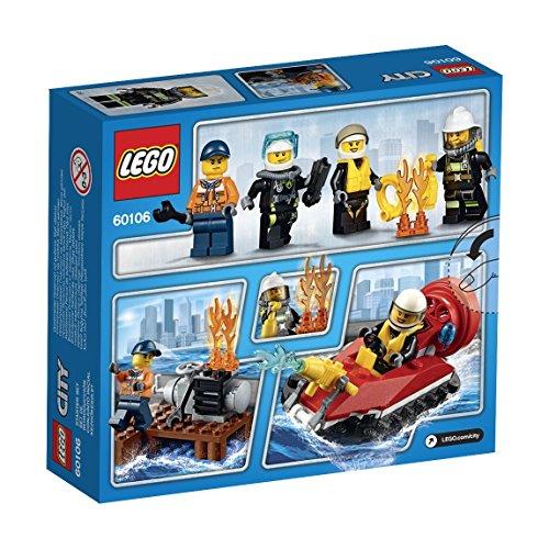 feuerwehrwache lego LEGO City 60106 - Feuerwehr-Starter-Set