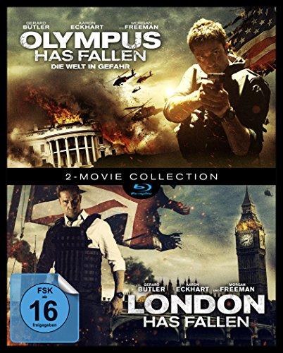 Olympus has fallen / London has fallen (exklusiv bei Amazon.de) [Blu-ray] (Blu-ray Olympus)