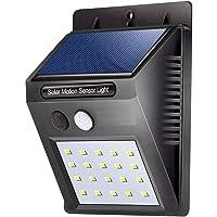 NEFI Solar Light | Outdoor, 20 LED Wireless Motion Sensor Lights | Waterproof Wall Light | Security Lights for Outdoor…
