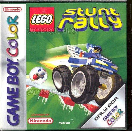 Lego stunt rally - Game Boy Color - PAL (Lego Stunt Rally)