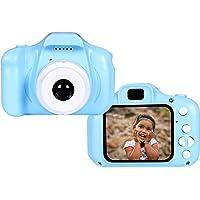 AUFRICHTIG STORE Kids 3.2 MP Digital Camera Recorder Camera 800W HD 2.0 Inch Screen Video Front Camera Child Camera…