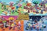 Animal Crossing - Four Seasons Poster (91,44 x 60,96 cm)