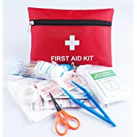 Blesser Trousse Premier Secours Voyage Voiture Entreprise Maison Complet First Aid Kit, Couverture de Survie Trousse…