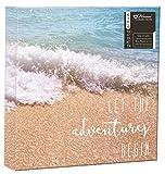 12,7x 17,8cm Familie Fotoalbum Travel Beach Urlaub Design für 104Fotos Slip in