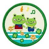 Minoda funnyZOO Cotton Patch del Hierro y el sello de la rana anfibia K01I5901