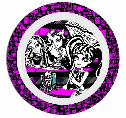 Imagen principal de Monster High 737292 - Plato llano de melamina