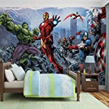 Fotomurale da Parete 960VEXXXL - Marvel Avengers - XXXL - 416cm x 254cm - 4 Strisce - Carta da murale di prima qualità 130gsm EasyInstall