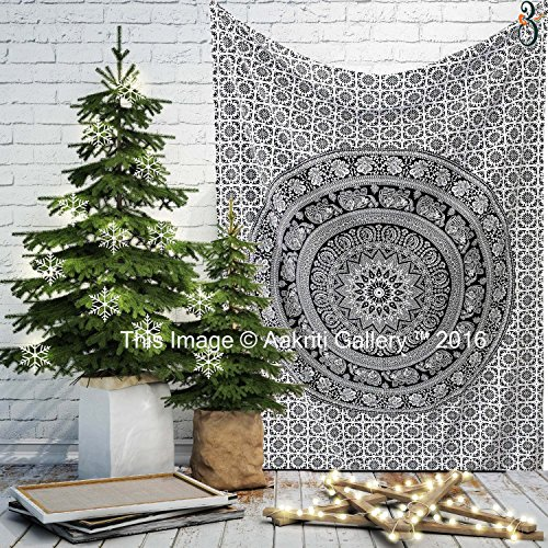 tapestry-single-black-and-white-flower-wall-hanging-art-decor-mandala-tapestry-hippie-dorm-84x55-inc