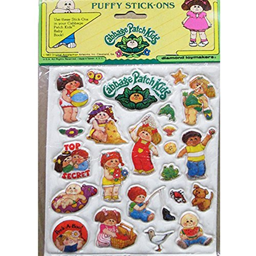 cabbage-patch-kids-vintage-1983-puffy-stickers-style-3-1-sheet