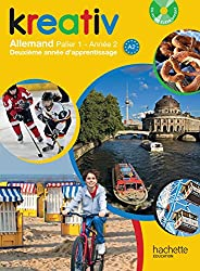 Kreativ année 2 palier 1 - Allemand - Livre de l'élève + CD audio élève inclus - édition 2014