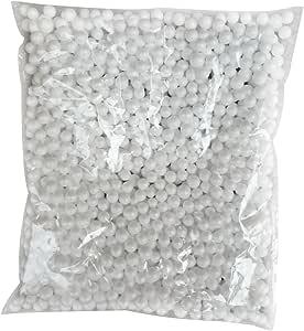 /über 13000 Orange 14000 Korn Size 2.5-3.5mm Doitsa 1 Beutel Mini Polystyrol Styropor Handwerk DIY Schaumstoff Dekoration k/ügelchen F/üller
