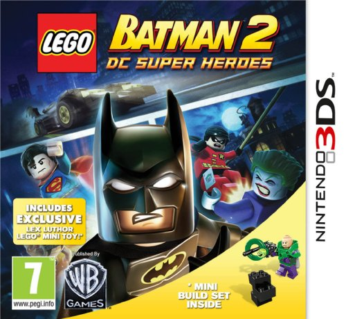 [UK-Import]LEGO Batman 2 DC Super Heroes Limited Edition With Lex Luthor Toy Game 3DS (Lex Luthor Toy)
