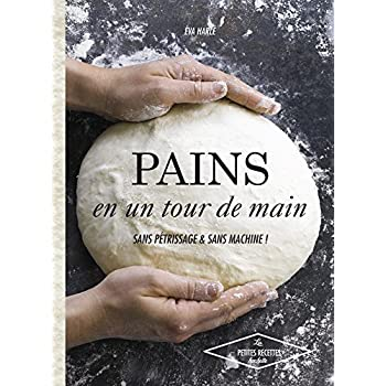 Pains en un tour de main: Sans pétrissage et sans machine !