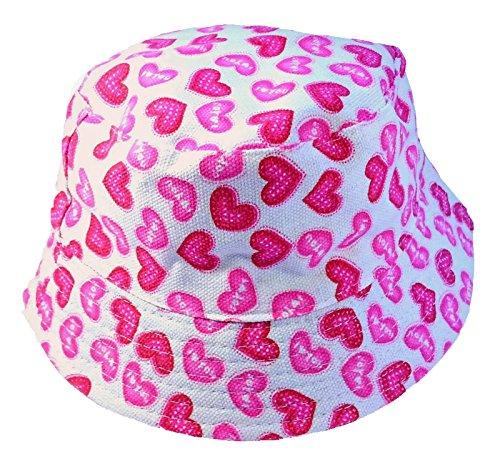 Bonnets En Coton Pour Enfants Couleurs Roses Blancs Age 3 4 5 6