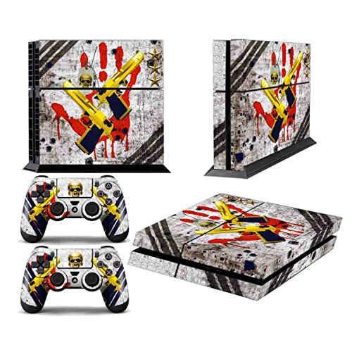 Video Games & Consoles Grim Reaper Motif Precise Sony Ps4 Playstation 4 Pro Skin Sticker Screen Protector Set Faceplates, Decals & Stickers