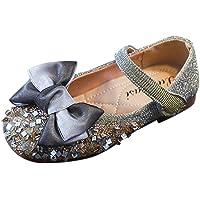 FRAUIT Scarpe Bambina Carnevale Glitter Scarpette Principessa Ragazza Mary Jane Basse Eleganti con Paillettes Scarpe da…