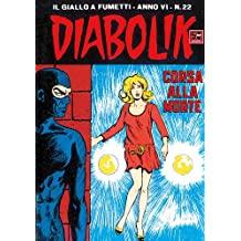 DIABOLIK (98): Corsa alla morte (Italian Edition)
