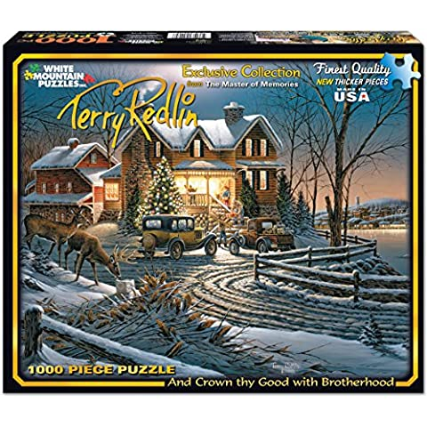Jigsaw Puzzle Terry Redlin 1000 Pezzi 24