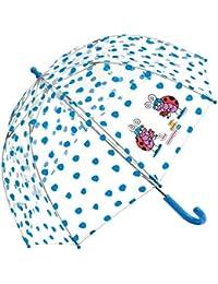 Paraguas Kukuxumusu Mariquitas Azul