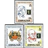 Gibraltar 598-600 (completa.edición.) 1990 sellos (sellos para los coleccionistas)