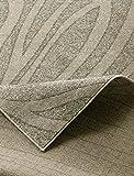 HANSE Home 101541 3-teilig Bettumrandung Teppich Lectus Bettläufer Bettbrücke, Polypropylen, Creme grau, 70 x 140 x 0.8 cm
