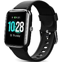 Montre Connectée Femmes,Smartwatch Homme Etanche IP68 Bracelet Connecté Cardio Podometre montre Intelligente Sport…