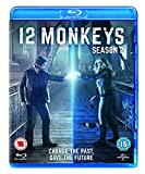 12 Monkeys - Season 2 [Blu-ray] [2016] UK-Import, Sprache-Englisch