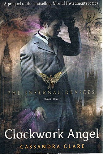 Book cover for Clockwork Angel