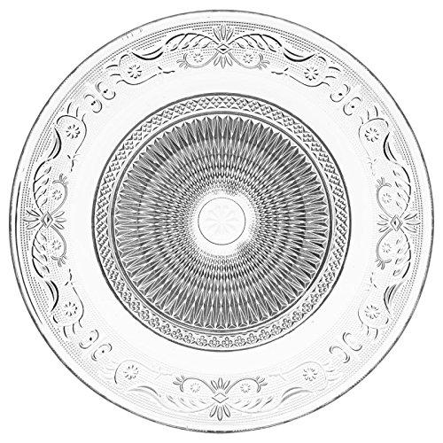 Paris Prix - Lot De 6 Assiettes Plates\