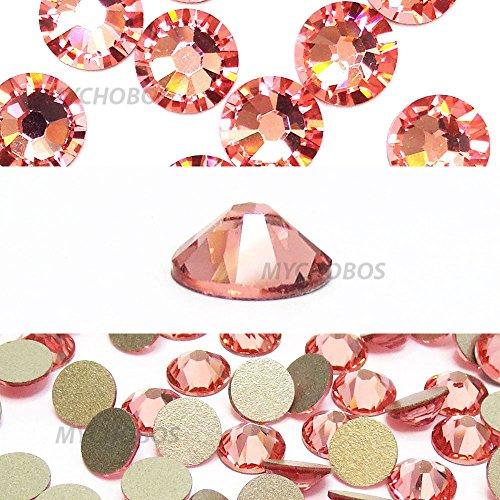 Rose Peach (262) Swarovski 2058 Xilion/New 2088 Xirius 20ss flatbacks No Hotfix Nail Art strass 5 mm ss20 * * * * * * * * * * * * * * * * LIVRAISON GRATUITE à partir de mychobos) * * * * * * * * * * * * * * * *