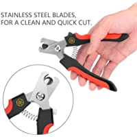 PSK Stainless Steel Dog/Cat Toe Nail Clipper Scissor Trimmer & Cutter Grooming Tool