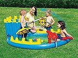 Bestway 52169 - Planschbecken Siege Play Pool Set, 186 x 150 x 68 cm