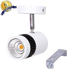 Ascension ® Led Spot Light 9W, 2700K Finest Quality Bright Light (Warm White)