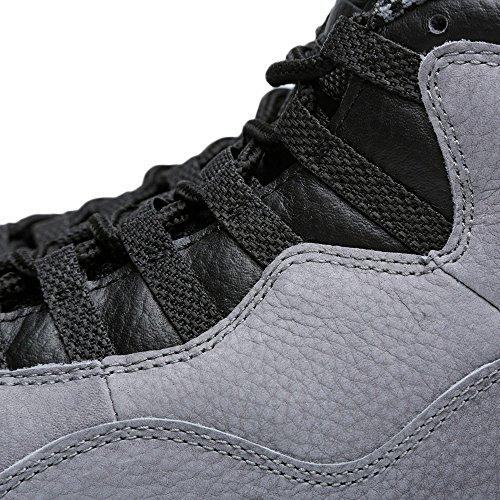 Nike Air Jordan Retro 10, Chaussures de Sport-Basketball Homme, Gris Gris