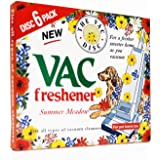 6 Pack Extra Strength Vac Air-Fresheners For Pet Lovers