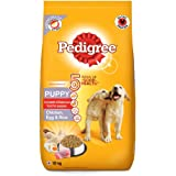 Pedigree Puppy Dry Dog Food, (High Protein Variant) Chicken, Egg & Rice, 10 kg