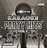 Karaoke Party Hits Vol 7 CDG CD+G Disc Set - 150 Songs on 8 Discs Including The Best Ever Karaoke Tracks Of All Time (Elvis Presley ,Little Mix, Lady Gaga, Bruno Mars, One Direction & much more