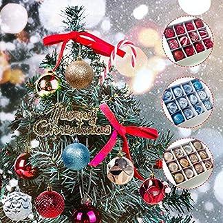 12PCS Adornos de bolas de Navidad para decoraciones de árboles de Navidad Bola colgante grande para vacaciones Decoración de fiesta de bodas Bolas de Navidad Decoración Árbol
