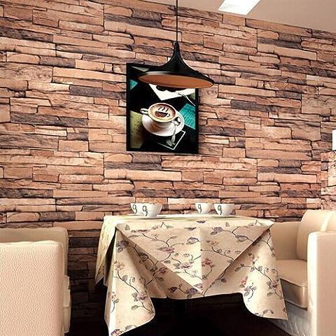 BTJC tiendas modernas pote del modelo del ladrillo chino fondo de pantalla 3D estereosc¨®pica tienda de ropa de bar-cafeter¨ªa wallpaper Nuevas caracter¨ªsticas ,