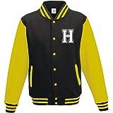Stars & Stripes Custom Initial Varsity Jacket, Personalised Varsity Jacket, Letterman College Jacket Printed Varsity Jacket